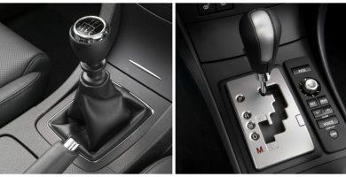 transmisión automática y manual