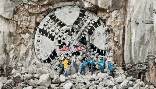 perforadora de túneles