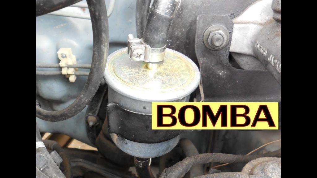 bomba de gasolina de auto