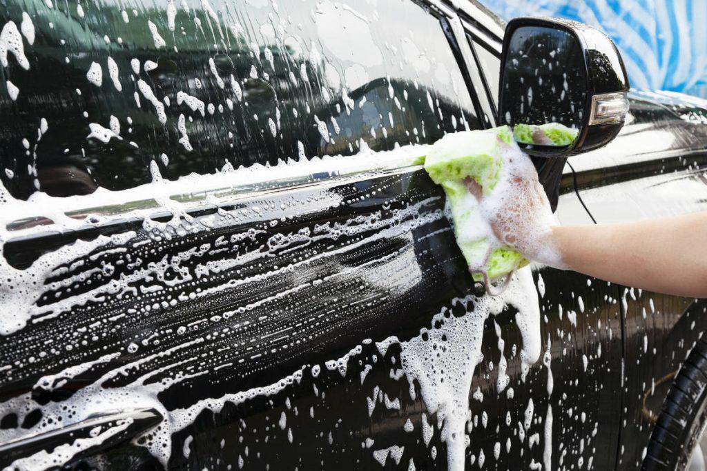 errores al lavar tu coche