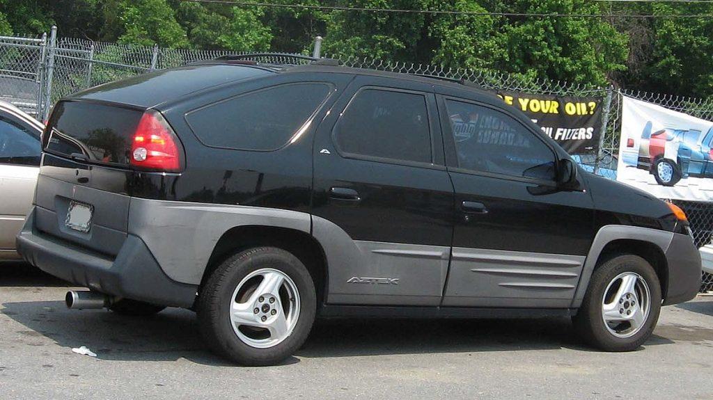 autos más feos Pontiac Aztek