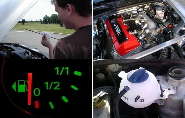 como revisar el nivel de agua de tu vehículo