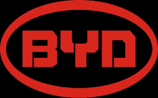 BYD historia logo